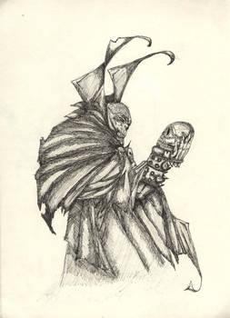 sketch of spawn