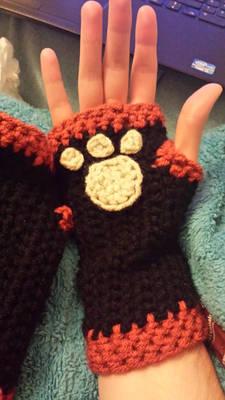 Paw + Claw hand warmers