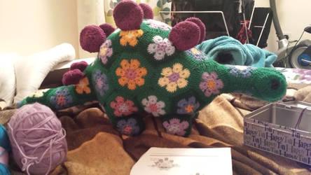 flower crochet steggie