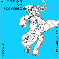 TK for Prez by Sorajima