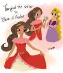 Elena as Tangled The Series