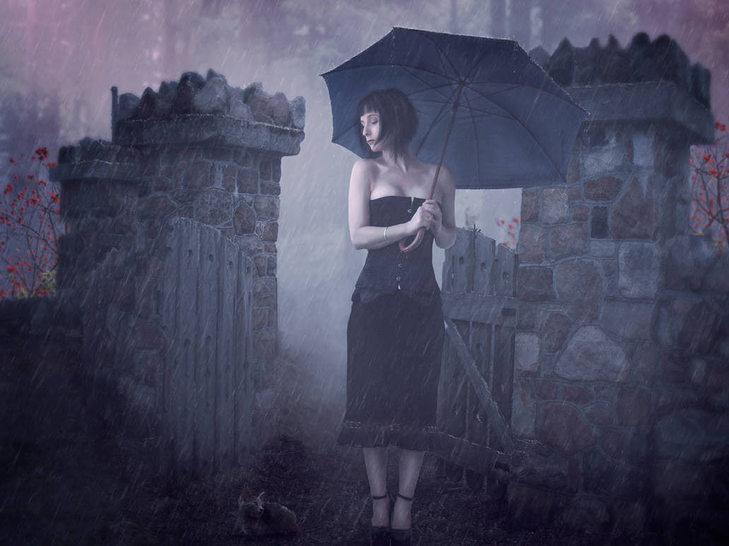 Under the rain / 2016 by Alena-48