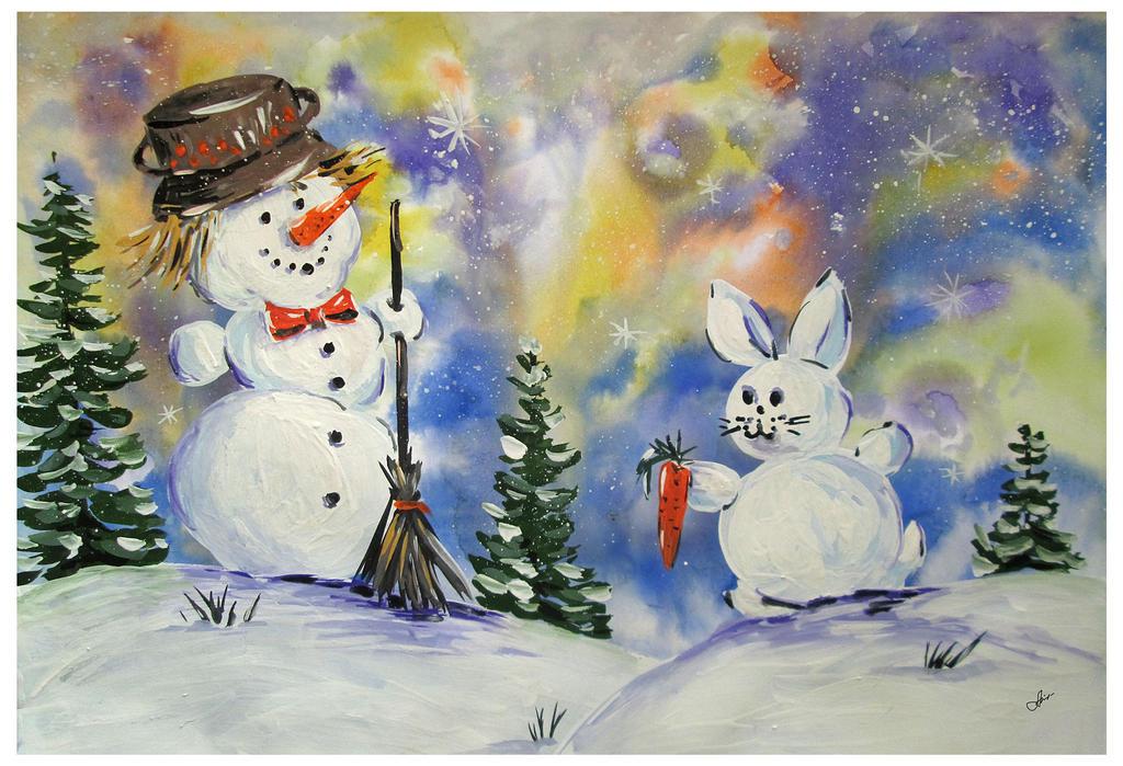 Winter joy by Alena-48