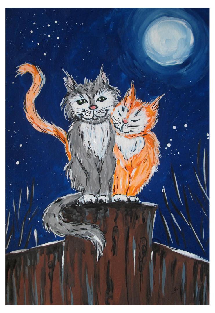 Cats love by Alena-48