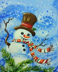 Snowman by Alena-48