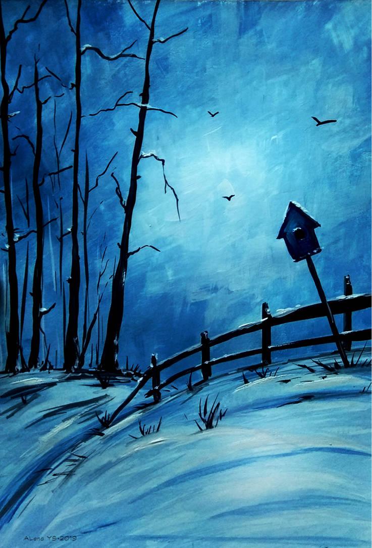 Frosty night by Alena-48