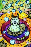 Cat's dream by Alena-48