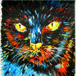 Abstract Cat by Alena-48