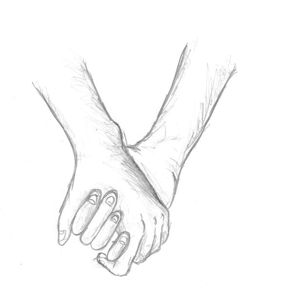 Hands Together Drawing Drawings Holding Hands by