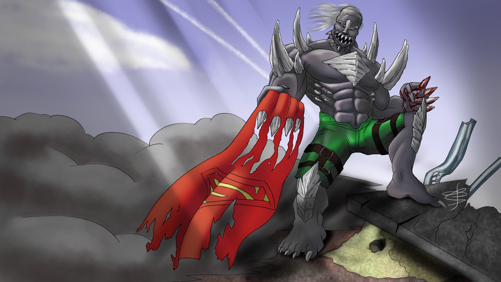 favorite comic book villain doomsday by avatarbr on