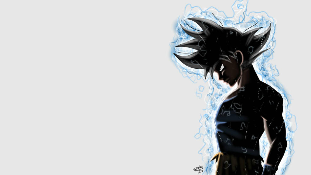 Ultra instinct goku by avatarbr on deviantart - Goku ultra instinct sketch ...