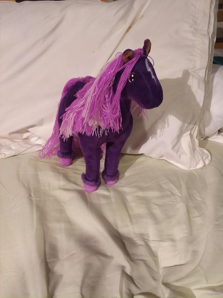 my Rainbow Brite Skydancer plush by UnicornLover2500