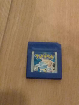 My Pokemon Blue Version for the game boy