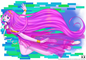 Princess Bubblegum by janvill