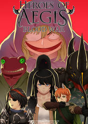 Heroes of Aegis: Blood War, Catalyst cover