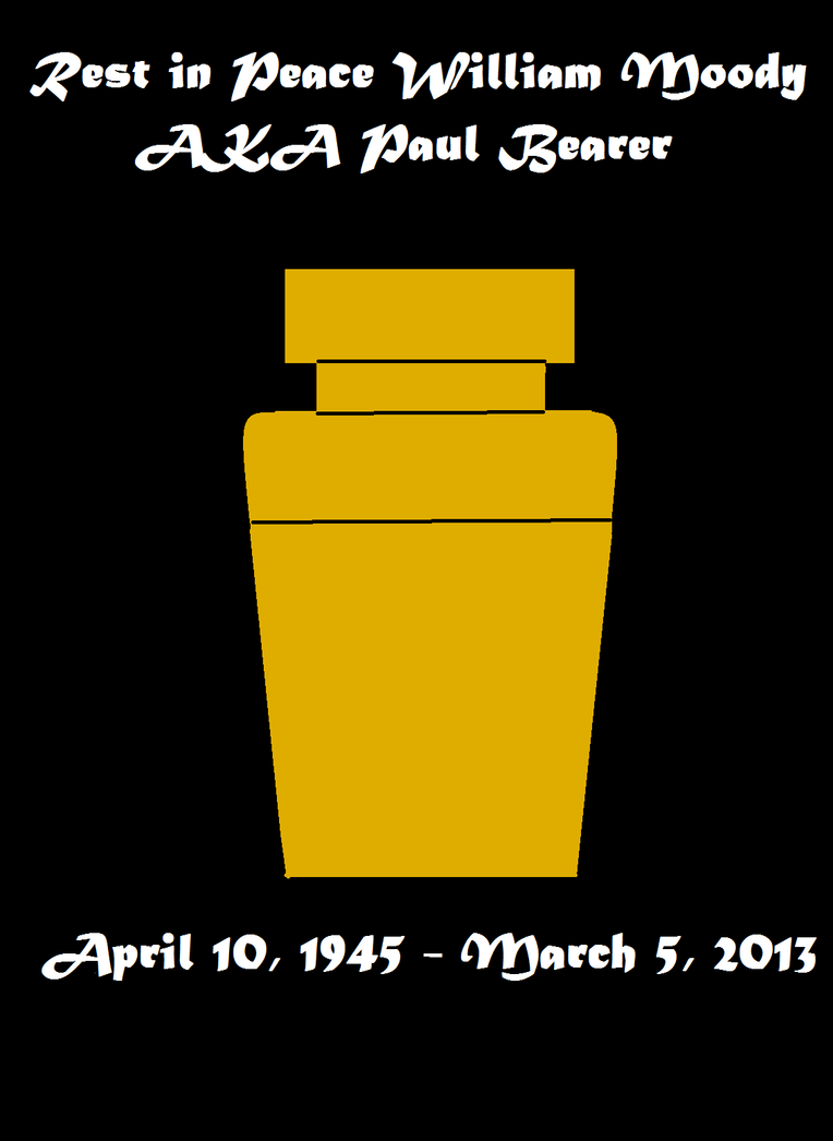 WWE: RIP Paul Bearer (1954-2013) by JDragon87