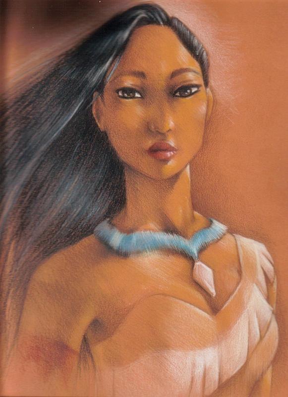 Pocahontas by kakashi1920