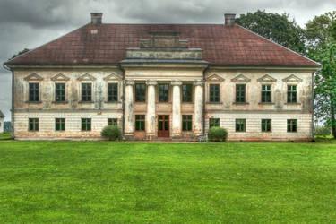 Zeimiai manor by Baltagalvis