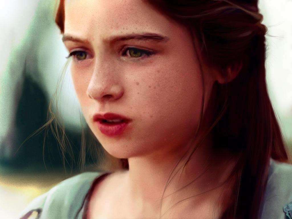 Redhead - Digital Painting by Packwood on DeviantArt