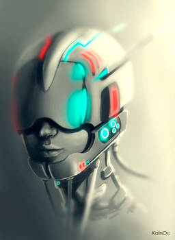 Mechanical Girl (speed paint)