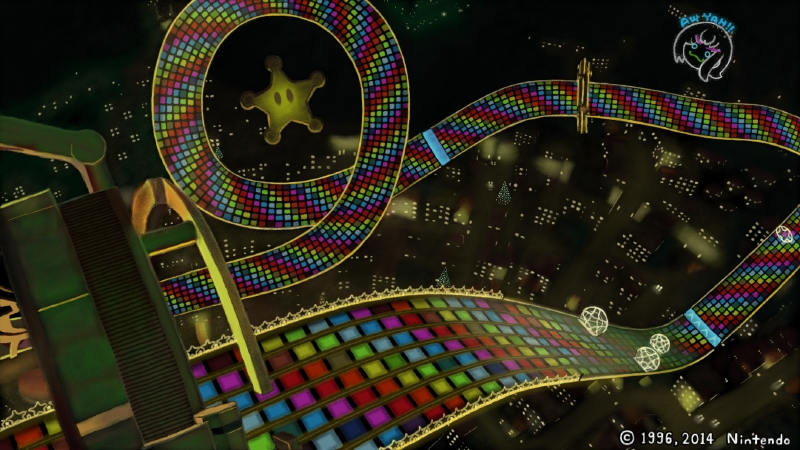 Mario Kart 8: N64 Rainbow Road is back!! by chunzprocessor