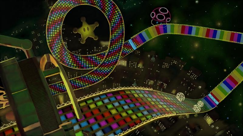 Mario Kart 8 Rainbow Road Nexus Art Academy By