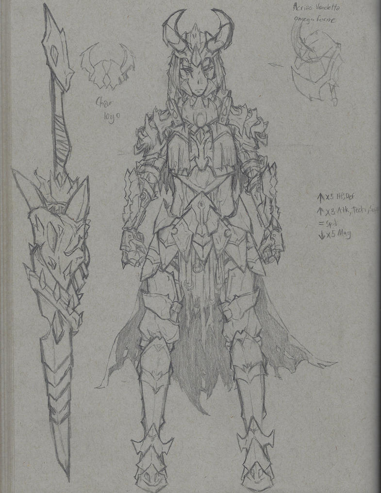 Demonic Cavalry's Royal Guards f  (concept armor) by Periphone