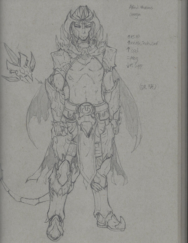 Male Verthellite Berzerker (concept armor) by Periphone