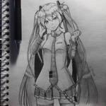 Hatsune Miku by Periphone