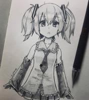 A Hatsune Miku Fanart... by Periphone