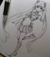 Usagi Tsukino, Sailor Moon (Suggested by: kh3mm4) by Periphone