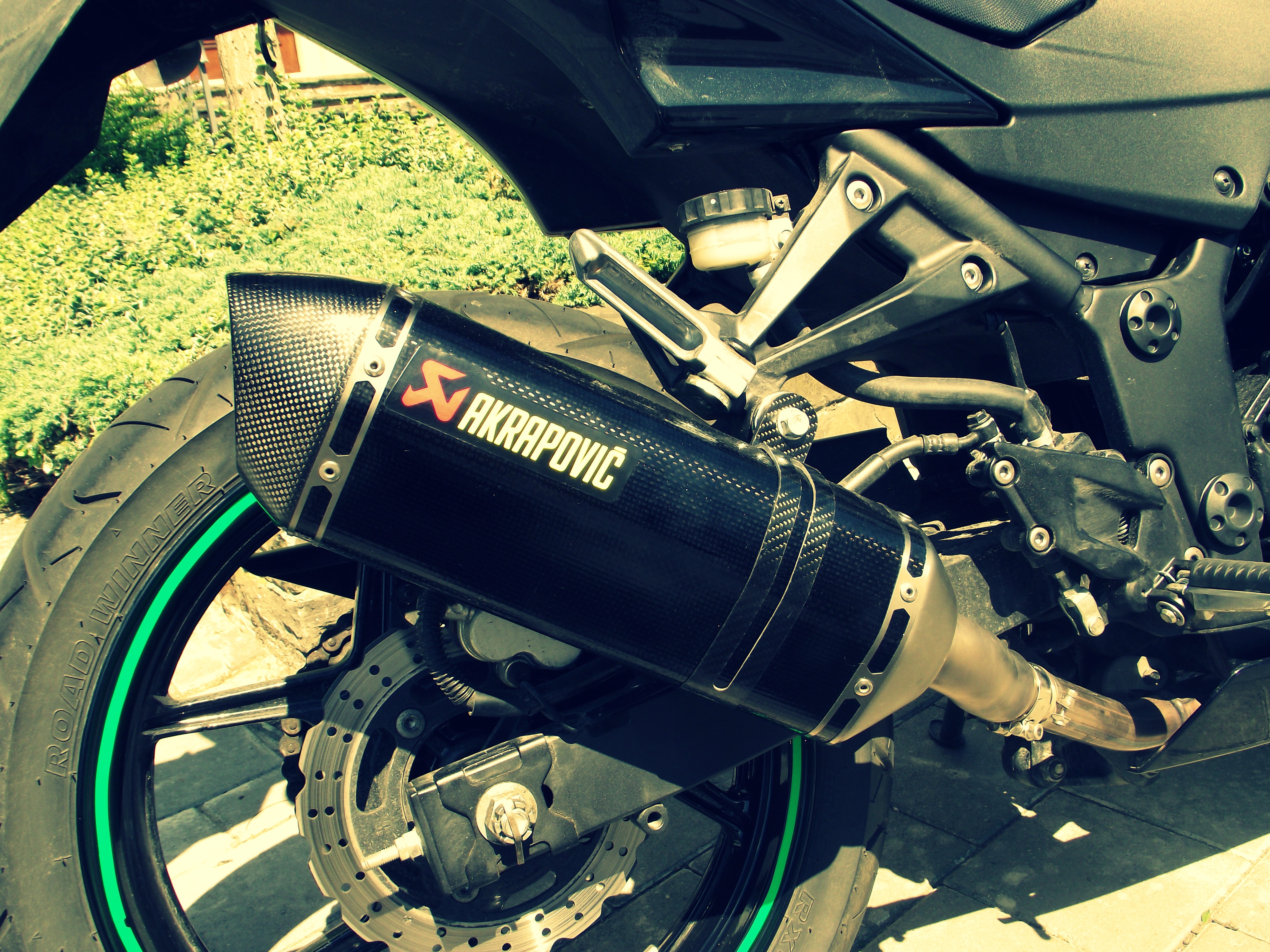 moto kawasaki pot akrapovic 3 by laurenthxc on deviantart