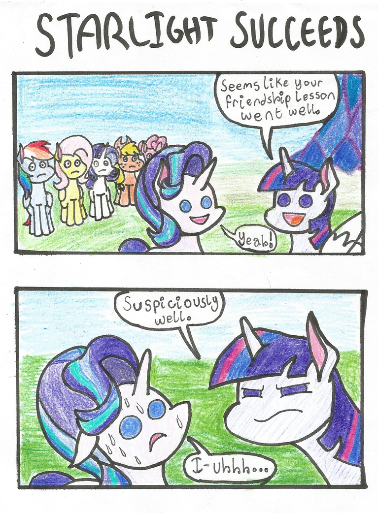 Starlight Succeeds by Skiskir