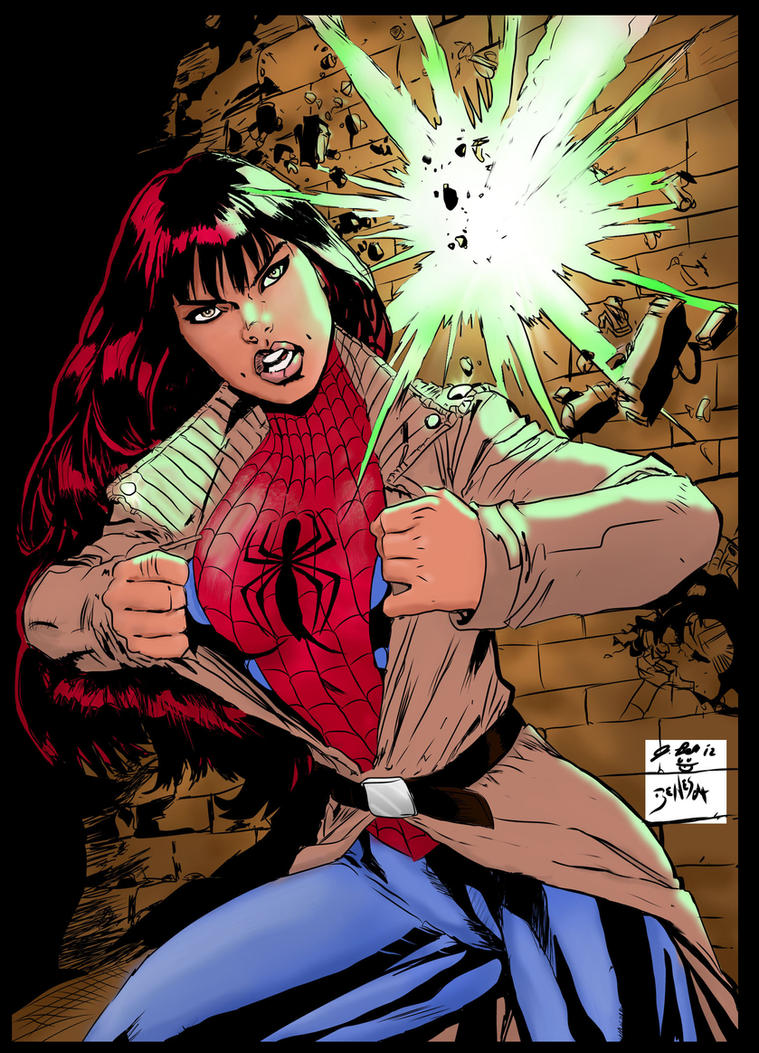 Mary Jane Penciling : ... Mangaverse Spider Man Wallpaper