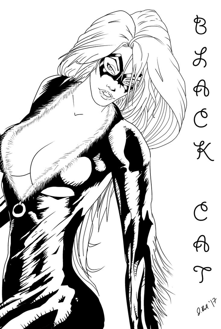 Black Cat by me by jbellcomic