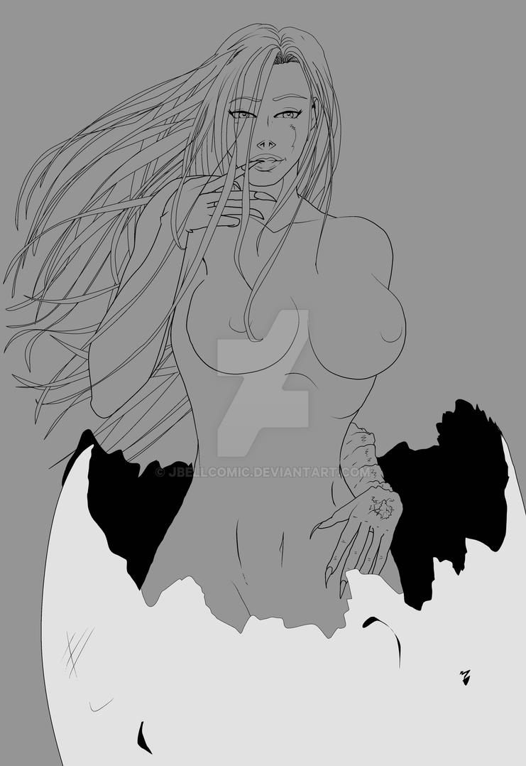 Darkchild inked NSFW by jbellcomic