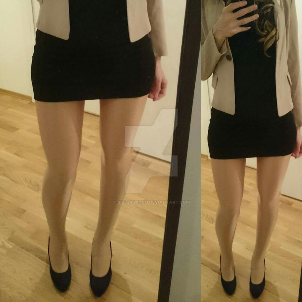 How To Make Leg Affects Pantyhose 53