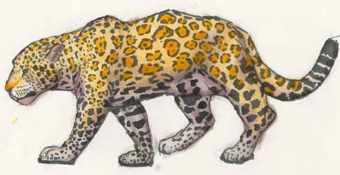 J is for Jaguar by Nortya
