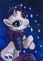 Rarity ACEO by Nortya