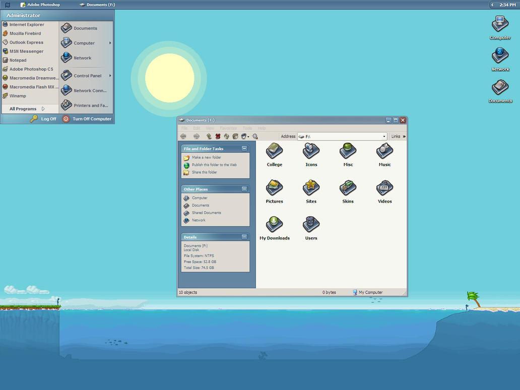 January Desktop by javierocasio