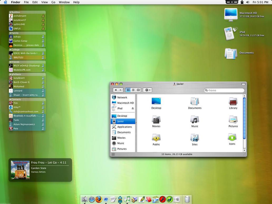 My new Mac by javierocasio