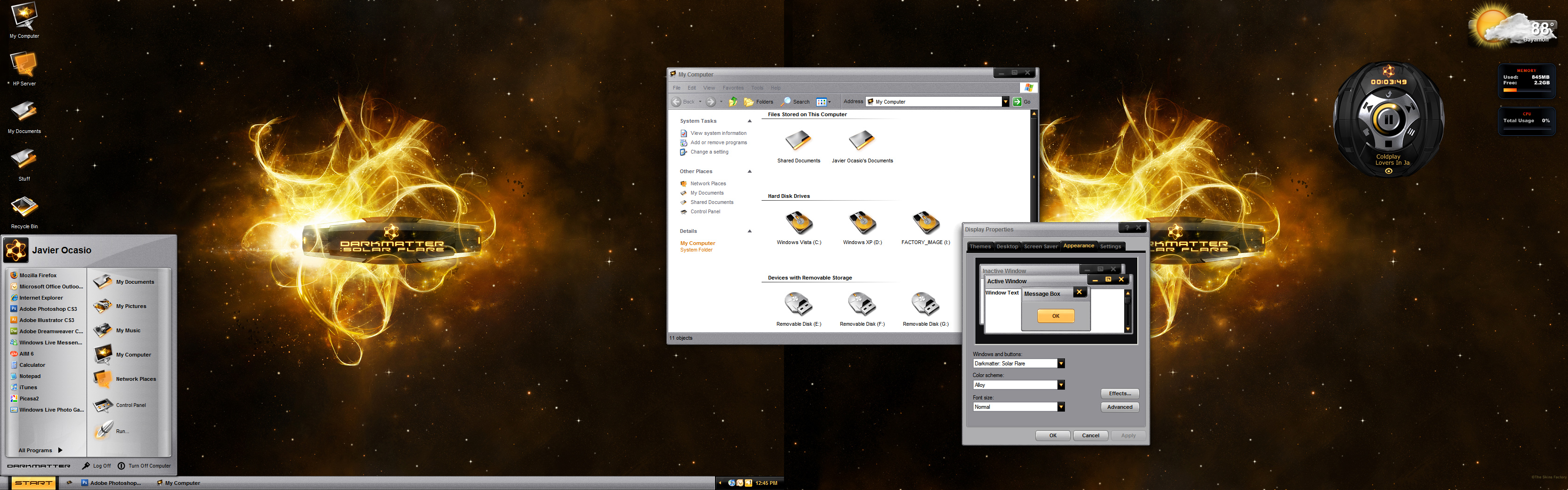 PC Desktop by javierocasio