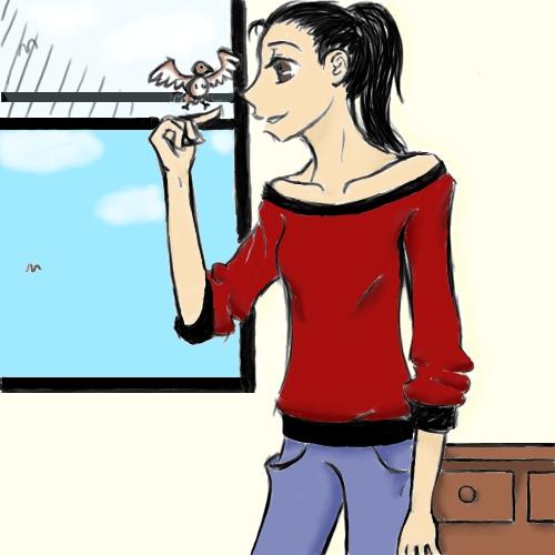 Little Brown Bird by jenna-aw