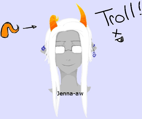 MY troll by jenna-aw