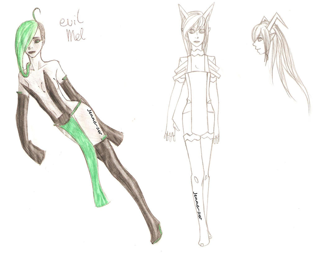 Some sketches by jenna-aw