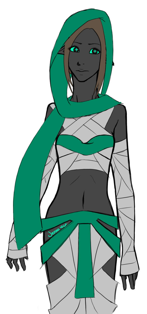 grey and teal by jenna-aw