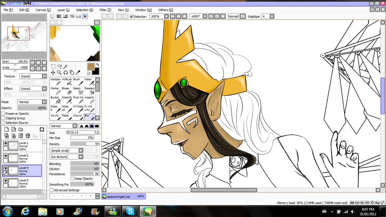 Royalty: Progress by jenna-aw