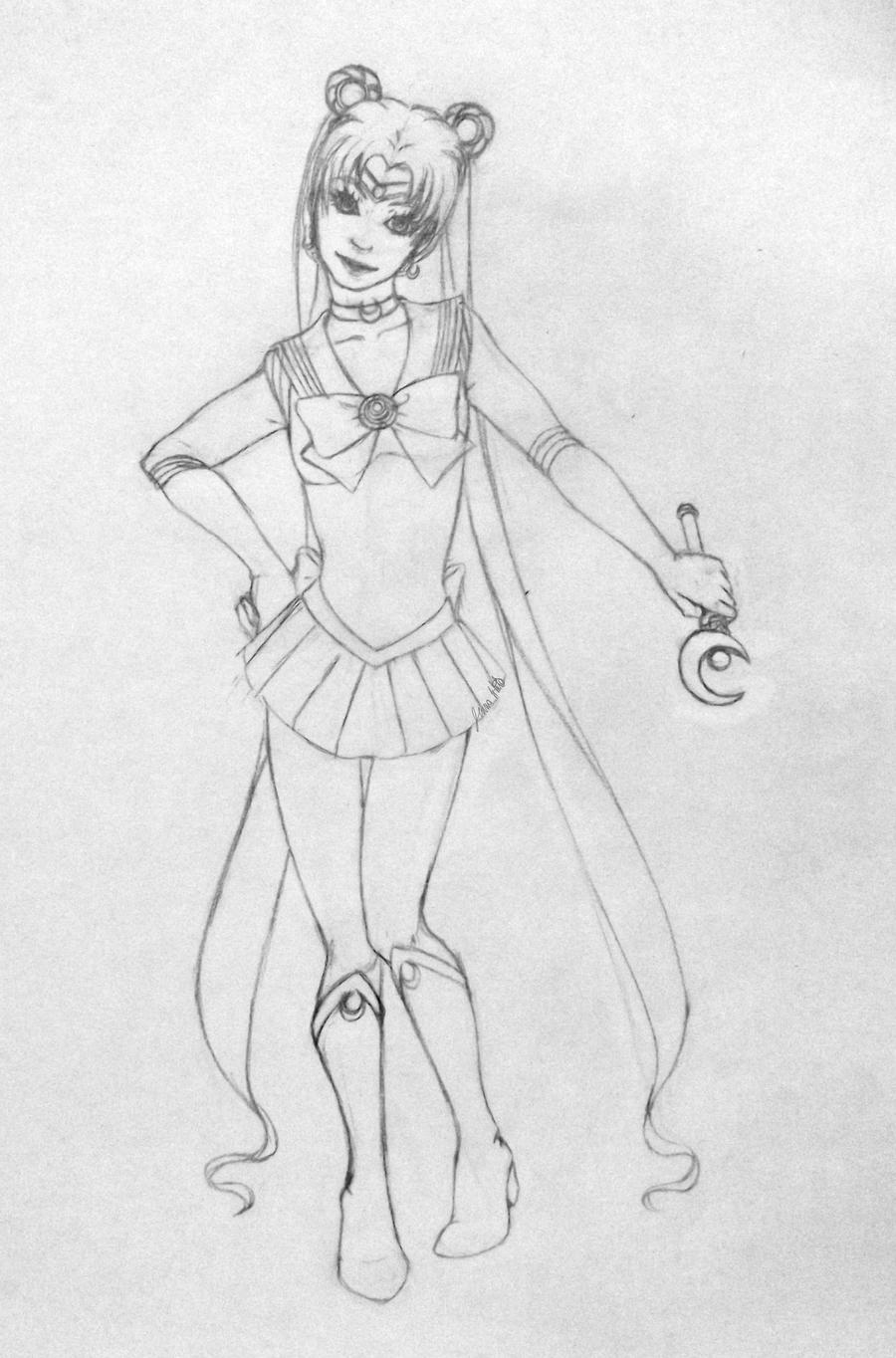 Sailor Moon by jenna-aw