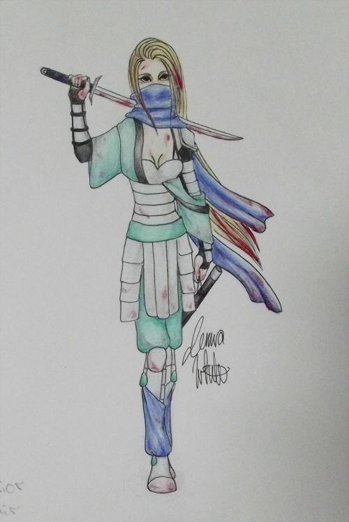 Warrior by jenna-aw