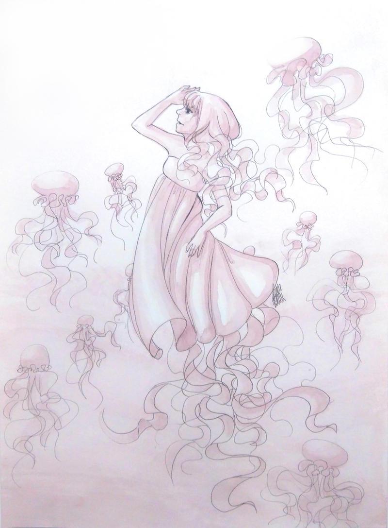 Jellyfish by jenna-aw